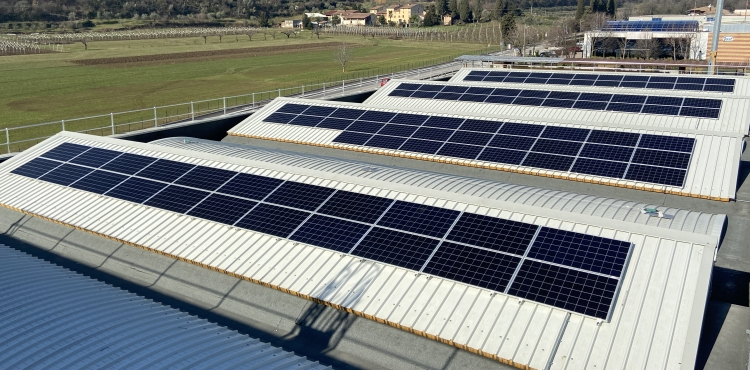 New production site photovoltaic system