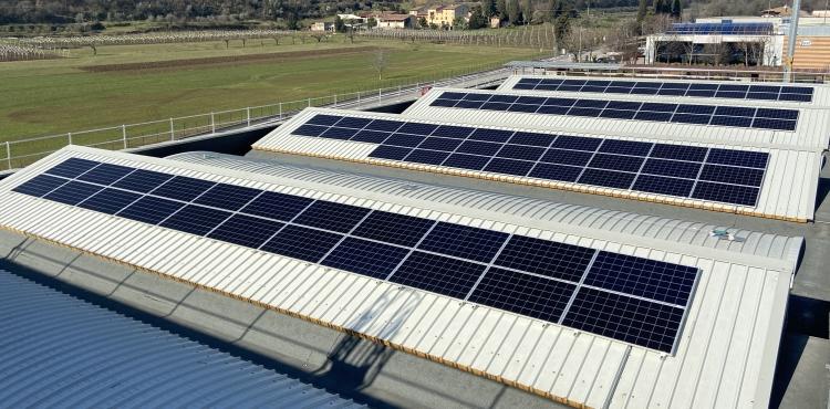 Impianto fotovoltaico nuova sede produttiva