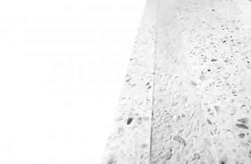 Sandgestrahlter Streifen